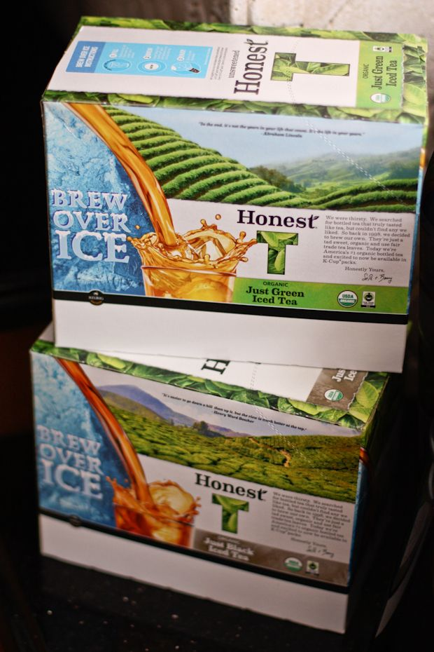 Iced Honest Tea K-Cups {Giveaway} | Aggie's Kitchen
