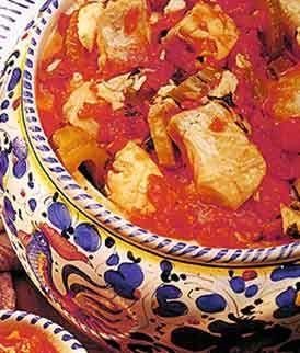Recipe: Lago Trasimeno Fish Stew (Tegamaccio, Italian, using plum tomatoes) - Recipelink.com