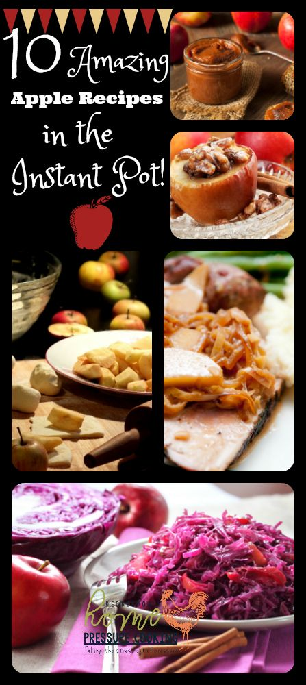 Tis the season, for the reason of all things Apple recipes. Today I am sharing all things apple recipes in the Instant Pot. Applesauce is truly amazing and kid approved. I don't even add any sugar to my recipe. Home made Apple Sauce HERE Some may question why meat dishes call for fruit. I actually...Read More