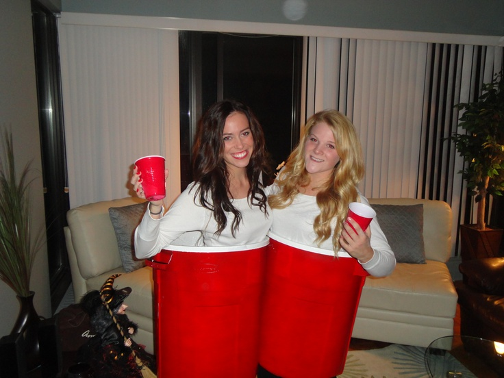Skirt made of solo cups! Anything But Clothes party ... |Diy Halloween Costumes Red Solo Cup