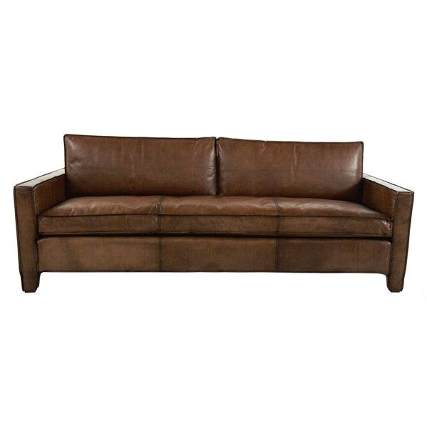 Dark Brown Sectional Sofa. Jayson Home Nelson Sofa ($4,195) ❤ Liked On  Polyvore Featuring Home, Furniture, Part 69