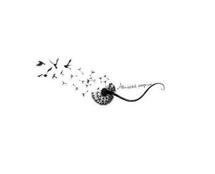 Resultado de imagem para dandelion butterfly tattoo designs
