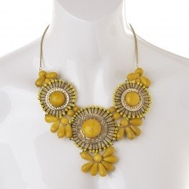 Wow! Yellow yoke of colour to brighten up any outfit for sure!