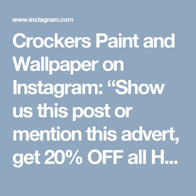 "Crockers Paint and Wallpaper on Instagram: ""Show us this post or mention this advert, get 20% OFF all Haymes Ultra Premium and Simply Woodcare products until January 29! Celebrate Australia Day the Aussie way using The Great Australian Paint. Haymes Paint..Made in Australia and owned by Australians. 🇦🇺🇦🇺 Retail customers only, and excludes 15 lt sizes. #crockers #crockerspaint #haymespaint #thegreataustralianpaint #australiaday #celebratesustraliaday #summertimepainting #diy"""