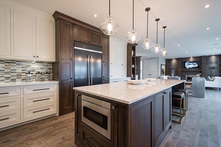 Dream Home 2015 London On | Ella Cambria quartz  from Progressive Countertop on large kitchen island