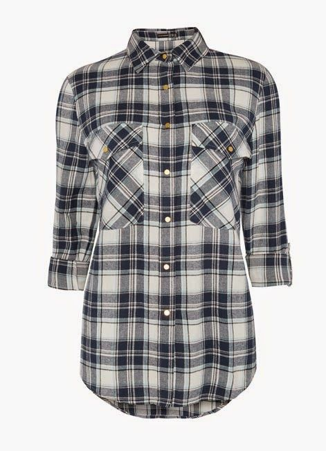 Primark online: camisa a cuadros oversized