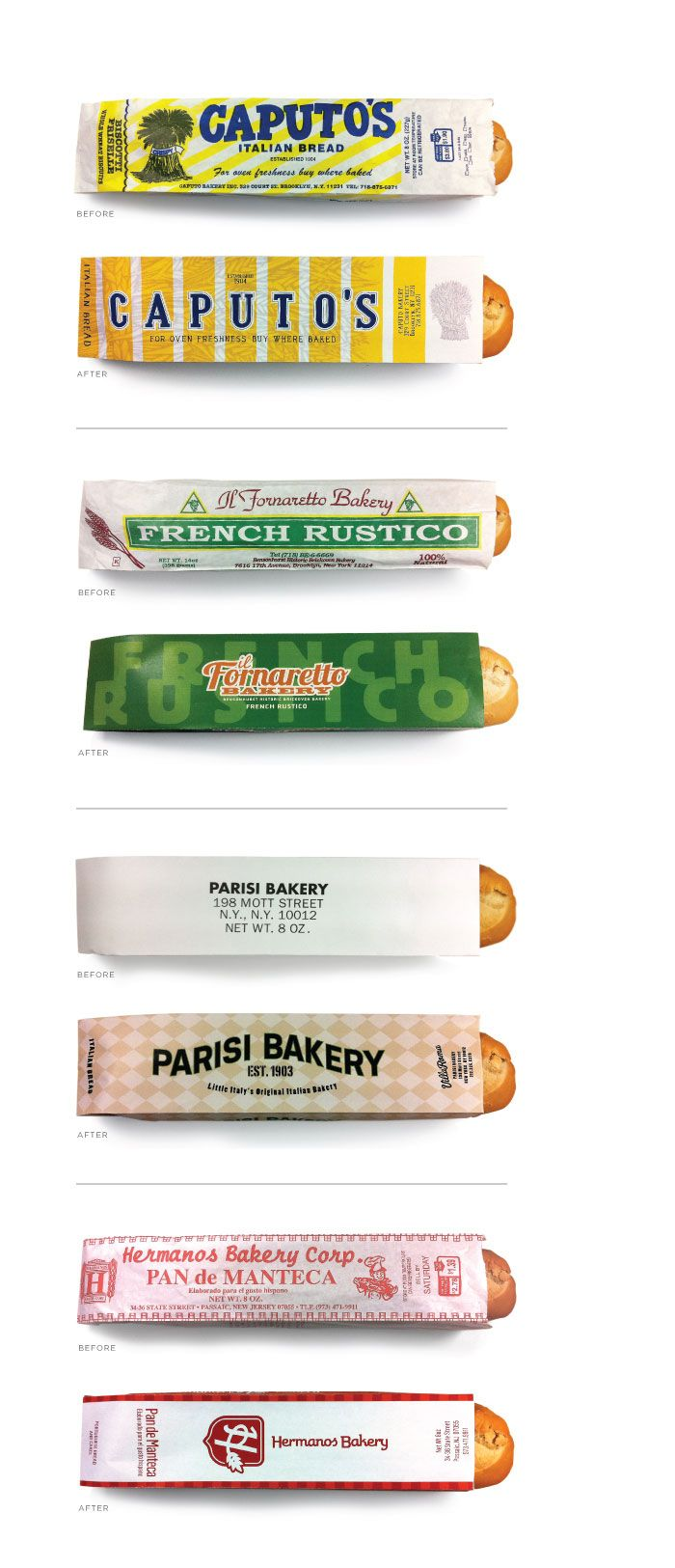 ojo bread bags Designed By: Stephen Pannone