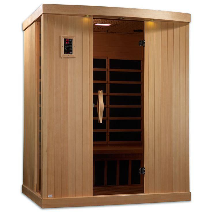 Near Zero EMF 3 Person 9 Carbon IR Sauna