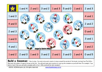 A Wilkie Way Game to practice the first addition facts to be committed to memory. the pairs that make five.A simple game students return to time and time again. Games make excellent homework activities.