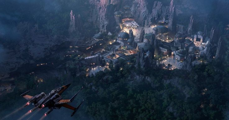 Disney Reveals New Star Wars Land, Avatar Theme Park Photos & Details -- It has been confirmed that Disneyland's Star Tours ride will soon include a mission from Star Wars 8. -- http://movieweb.com/star-wars-avatar-theme-park-disneyland-disney-world/