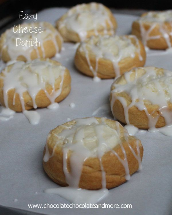 Easy Cheese Danishes-so simple to make and so delicious!