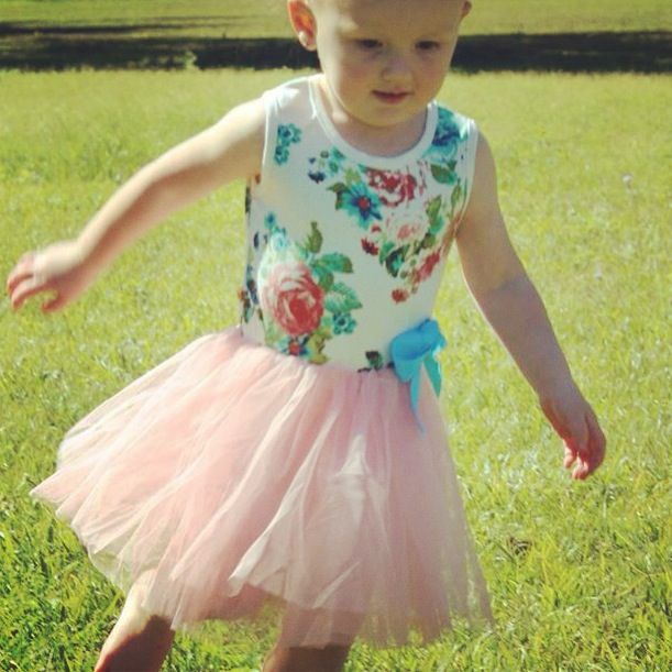 New to our dress range. Floral Tutu dress $15 + postage Australia wide. Check out our Facebook page for further details - Leibelle Childrens Boutique