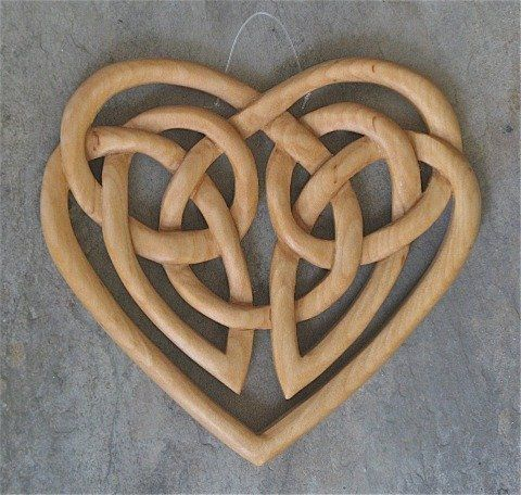 Celtic Heart - symbolizes eternal love. eternal because the knot is drawn with an unbroken line with no beginning or end. Inner wrist/forearm - Left.