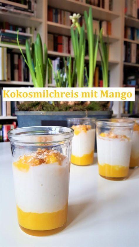 Rezept Milchreis mit Kokos und Mango