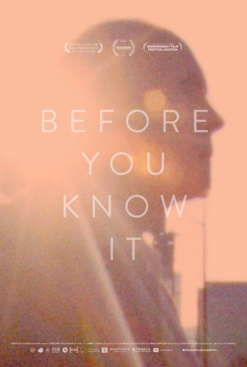 before you know it.