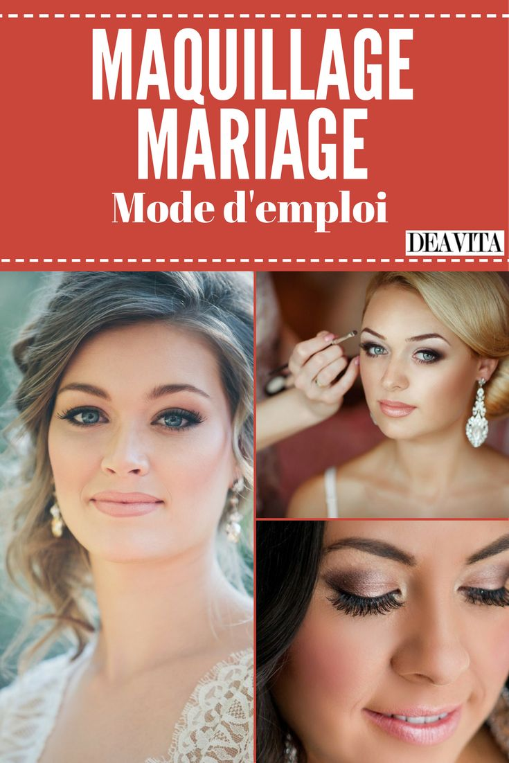 Le maquillage mariage est l'un des éléments indispensables pour être resplendissante le jour J. Après le choix de la robe et celui de la coiffure, il est essentiel de penser au maquillage. Naturel, discret ou glamour, le maquillage mariage se veut avant tout romantique et lumineux. Pour éblouir vos invités le jour J, suivez les conseils de nos experts qui n'ont pas hésité à nous confier les secrets d'un make up réussi. Zoom sur les meilleures façons de sublimer votre allure de princesse.