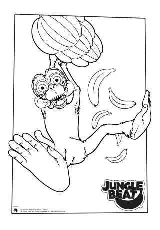 beat bugs coloring pages   30 best Jungle Beat Colouring Pages images on Pinterest ...