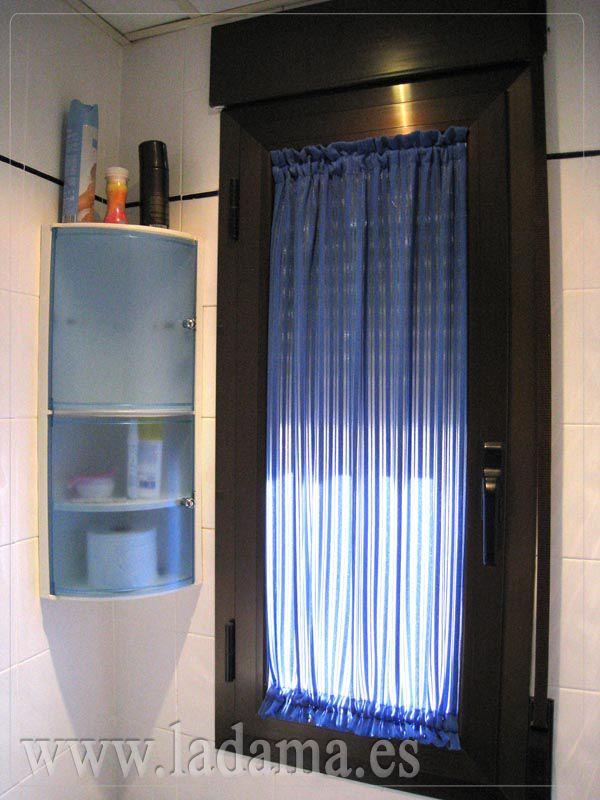 Cortinas De Baño En Cristal:Sheer Cafe Curtains Bathroom