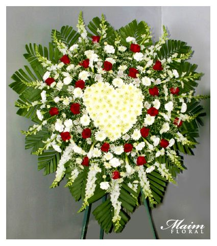 Unique Funeral Flowers | Home About Maim Casket Heart Sprays Wreath Specialty Contact Us