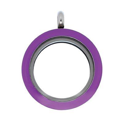 Purple Locket #LilyAnneDesigns #Locket #MissLilyCollection #LittleLady