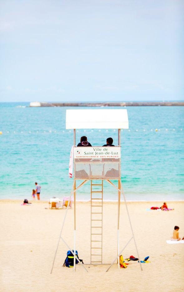 Venez flâner et profiter sur le plages de Saint-Jean-de-Luz. La côte vous promet de beaux paysages et de beaux moments pour vos vacances. #Plage #vacances #paysbasque
