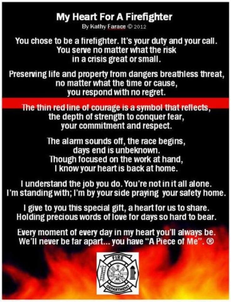 Describes love for a firefighter perfectly <3