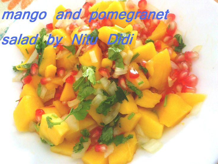 I am writing a recipe after 3 whole days and its as tho i need to reconnect myself with the words...the recipes are always in the back of my mind ready to be penned down. Mangoes, pom...
