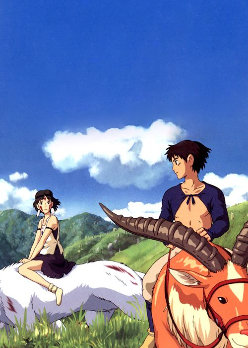 """Princezná Mononoke """"You cannot change fate. However, you can rise to meet it, if you so choose."""""""