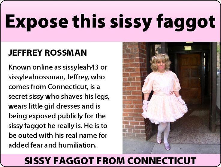 Sissy slut fag transvestite