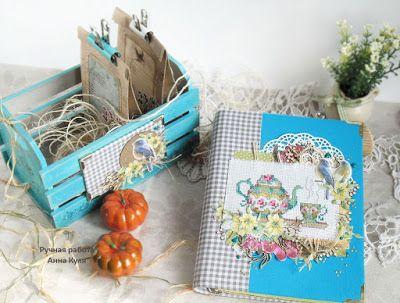 C.h.e.a.p.-art: Вдохновение от ДК. Анна Куля: бирюзовый набор для кухни