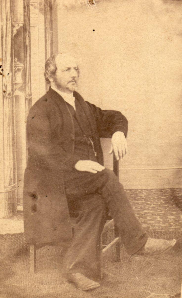 Reverend Marthinus van der Hoff, first reverend to the Voortrekkers in the Transvaal.