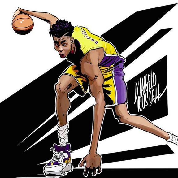 D'Angelo Russell 'Got Next' Illustration