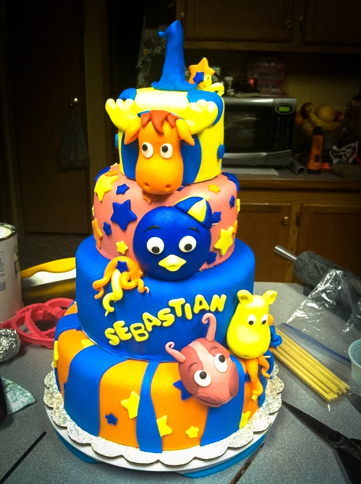 14 best images about backyardigans cake on pinterest birthday cakes photostream and search - Cake tolix ...