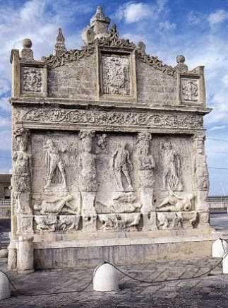 La fontana antica di Gallipoli