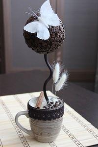 Кофейные зерна в декоре