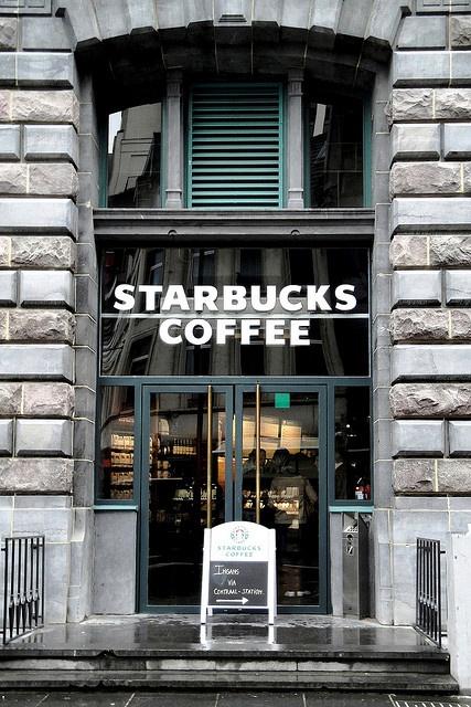 Starbucks | Belgium ベルギーのスタバ
