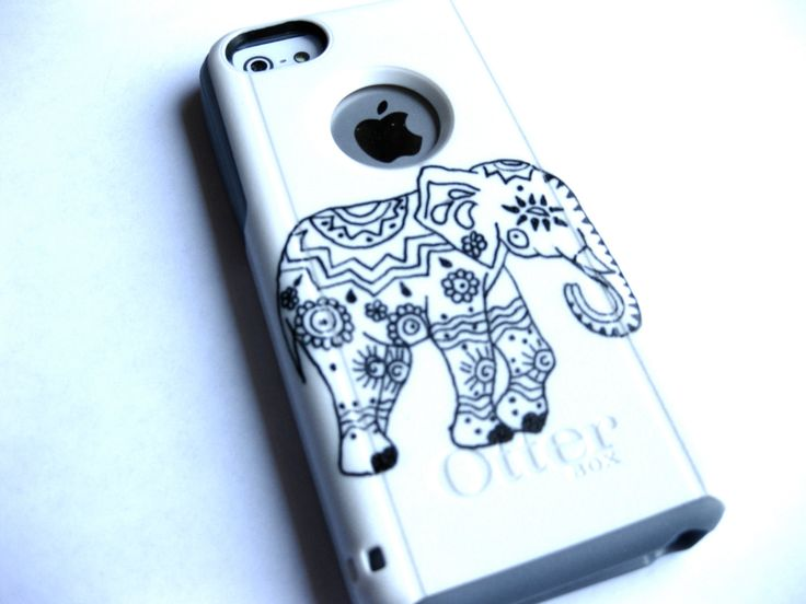 Indian Elephant otterbox Otterbox iPhone 5C case, case cover iphone 5c otterbox ,iphone 5c otterbox case,otterbox iphone 5C, otterbox by JoeBoxx on Etsy
