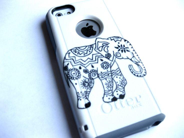 Indian Elephant otterbox Otterbox iPhone 5C case, case cover iphone 5c otterbox ,iphone 5c otterbox case,otterbox iphone 5C, otterbox by JoeBoxx on Etsy