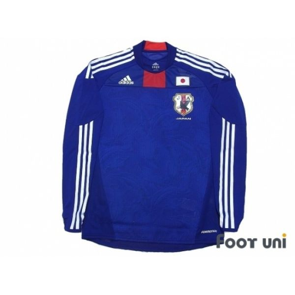 Japan 2010 Home Authentic Long Sleeve Shirt W Tags Japan Japan2010 Japanshirt Japanjersey Authentic Adidas Football Shirts Soccer Jerseys Vintage Classi