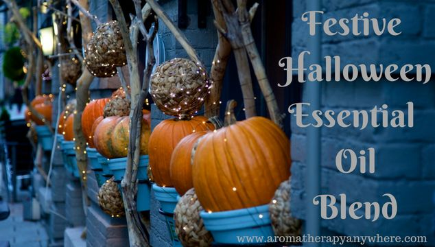 This Festive Halloween Essential Oil blend is a little spicy and a little sweet, just like those emotions you experience on Halloween night.