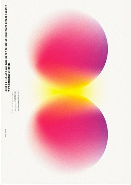 evocative form + color