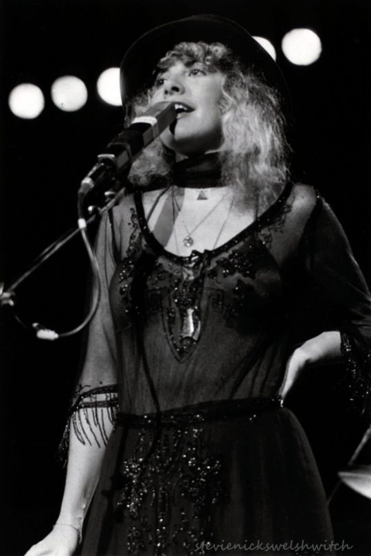 Stevie Nicks .. and Merlin! :)