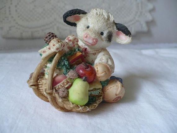 Baby Shower Gift Cow Gift Farm Animal Nursery Decor Kids Room Decor Add it to a gift basket to make the perfect presentation. Visit us to make your purchase today at: www.etsy.com/shop/pioneerfundraiser