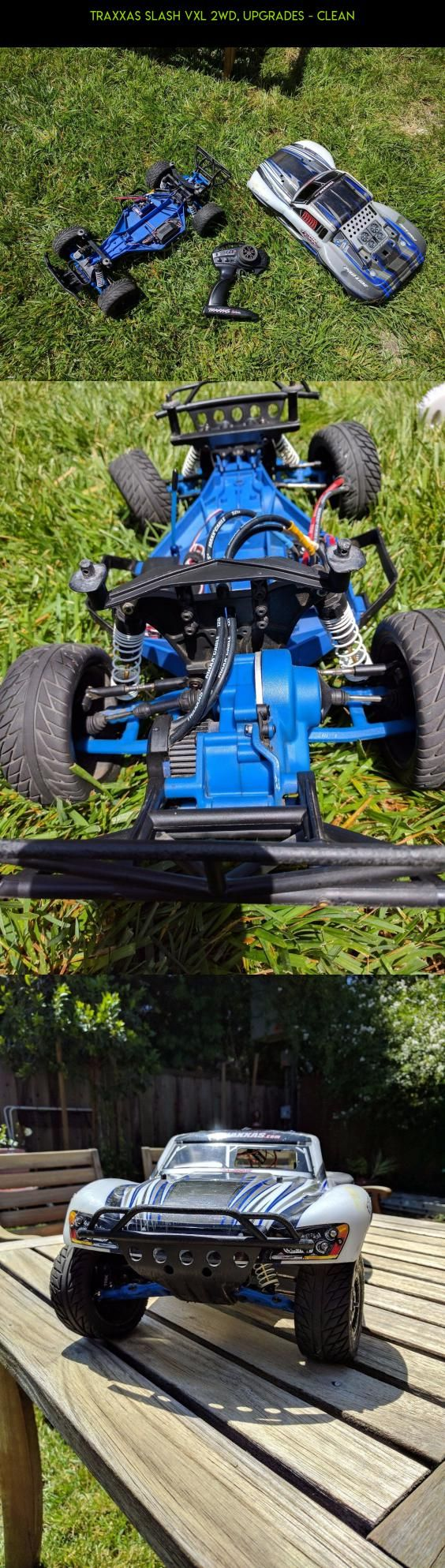 Traxxas Slash VXL 2wd, Upgrades - Clean #upgrades #drone #technology #traxxas #tech #camera #slash #products #shopping #fpv #racing #plans #parts #2wd #kit #gadgets