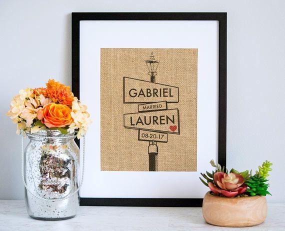 The Corner of I Do  Wedding Gift  Lovers Cross  Custom