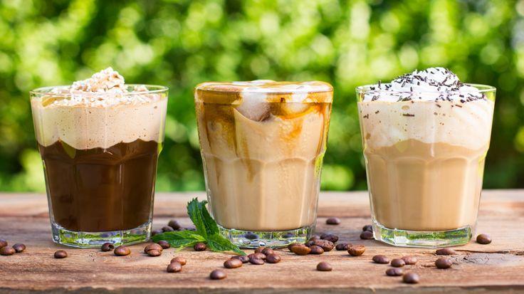 Analyse des différents choix de cafés glacés qu'offrent les chaînes Tim Horton, Starbuck et Second Cup.  http://fr.canoe.ca/sante/leteenforme/archives/2016/08/20160811-113029.html
