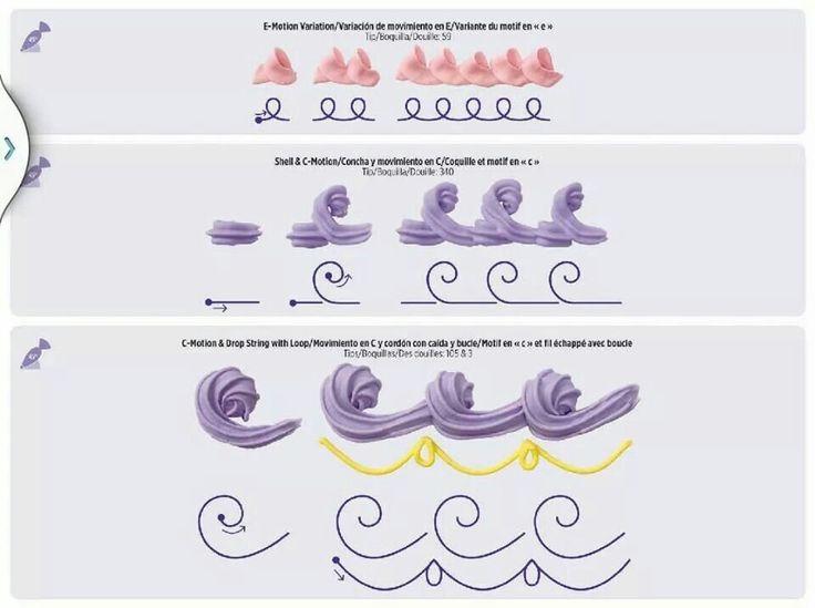 Cake Piping Design Templates