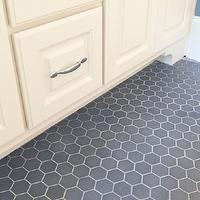 gray hexagon tile. Maybe lighter?
