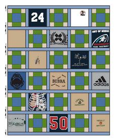 МК+ чертеж сборки одеяла