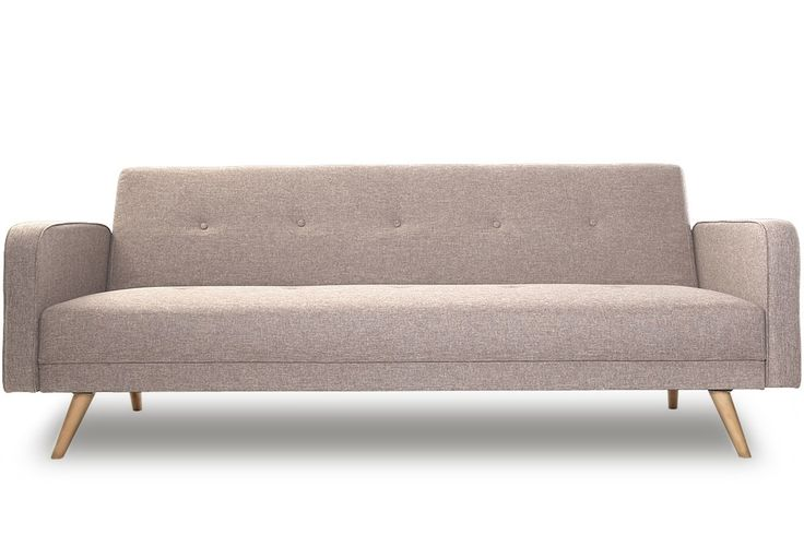 Canap convertible 3 places design scandinave naturel ulla - Canape design nordique ...